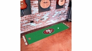 "Fan Mats 9028  NFL - San Francisco 49ers 18"" x 72"" Putting Green Mat"