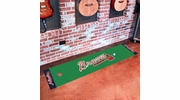 "Fan Mats 9036  MLB - Atlanta Braves 18"" x 72"" Putting Green Mat"