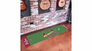 "Fan Mats 9038  MLB - St Louis Cardinals 18"" x 72"" Putting Green Mat"