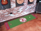 "Fan Mats 9053  MLB - Boston Red Sox 18"" x 72"" Putting Green Mat"
