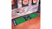 "Fan Mats 9075  UM - University of Michigan Wolverines 18"" x 72"" Putting Green Mat"
