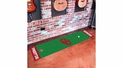 "Fan Mats 9079  OU - University of Oklahoma Sooners 18"" x 72"" Putting Green Mat"