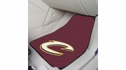 "Fan Mats 9233  NBA - Cleveland Cavaliers 17"" x 27"" Carpeted Car Mat Set"