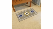"Fan Mats 9280  NBA - Indiana Pacers 29.5"" x 54"" Large NBA Court-Shaped Runner Rug"