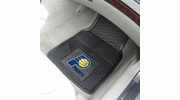 "Fan Mats 9284  NBA - Indiana Pacers 17"" x 27"" Heavy Duty Vinyl Car Mat Set"