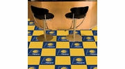 "Fan Mats 9286  NBA - Indiana Pacers 18"" x 18"" Team Carpet Tiles (10 Logo, 10 Solid per Box - appx 45 sq ft)"