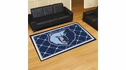 Fan Mats 9307  NBA - Memphis Grizzlies 5' x 8' Area Rug