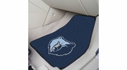 "Fan Mats 9309  NBA - Memphis Grizzlies 17"" x 27"" Carpeted Car Mat Set"