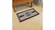 "Fan Mats 9394  NBA - Sacramento Kings 29.5"" x 54"" Large NBA Court-Shaped Runner Rug"