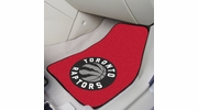 "Fan Mats 9421  NBA - Toronto Raptors 17"" x 27"" Carpeted Car Mat Set"