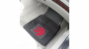 "Fan Mats 9422  NBA - Toronto Raptors 17"" x 27"" Heavy Duty Vinyl Car Mat Set"