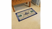 "Fan Mats 9426  NBA - Utah Jazz 29.5"" x 54"" Large NBA Court-Shaped Runner Rug"