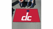 Fan Mats 9436  NBA - Washington Wizards 5' x 8' Ulti-Mat Area Rug / Mat