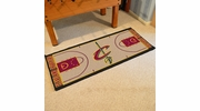 "Fan Mats 9483  NBA - Cleveland Cavaliers 24"" x 44"" NBA Court-Shaped Runner Rug"