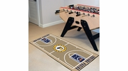 "Fan Mats 9489  NBA - Indiana Pacers 24"" x 44"" NBA Court-Shaped Runner Rug"