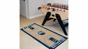 "Fan Mats 9492  NBA - Memphis Grizzlies 24"" x 44"" NBA Court-Shaped Runner Rug"