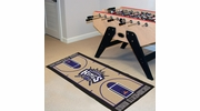 "Fan Mats 9504  NBA - Sacramento Kings 24"" x 44"" NBA Court-Shaped Runner Rug"