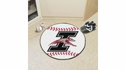 "Fan Mats 984  University of Indianapolis Greyhounds 27"" Diameter Baseball Shaped Area Rug"
