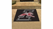 "Fan Mats 988  University of Indianapolis Greyhounds 33.75"" x 42.5"" All-Star Series Area Rug / Mat"