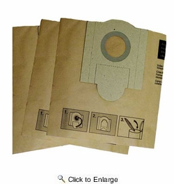 Fein 913038K01  Dust Extraction Filter Bag Turbo I Dust Extractor Vacuum - 3 per Package