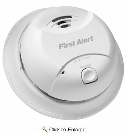 First Alert 0827B  10-Year Sealed Battery Ionization Smoke Alarm (CA Approved)