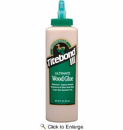 Franklin 1414  Titebond III Ultimate Wood Glue - 16-oz Bottle