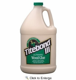 Franklin 1416  Titebond III Ultimate Wood Glue - Gallon Bottle