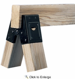 Fulton D400  Steel Light Duty Sawhorse Brackets - upto 300 lbs (400SHB) - 1 Pair per Package