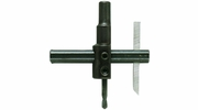 """General Tool 4  Circle Cutter 7/8"""" to 4"""" Capacity with 3/8"""" Round Shank (21003)"""