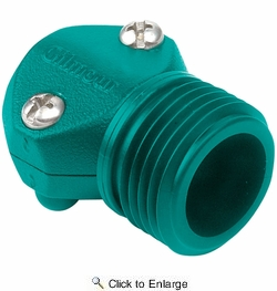 "Gilmour 05M  1/2"" Hose Repair Male Connector / Coupler End - Nylon"