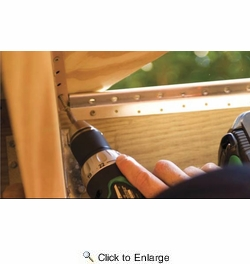 "Grabber DMP175-100  Deckmaster Hidden Deck Bracket System Brown Powder Coat Brackets and Screws for 1 -1/2"" and Thicker Deck Boards - 100 Bracket Pack"