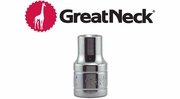"GreatNeck 1/2"" Drive Standard Sockets"