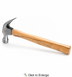 GreatNeck M16C  16-oz Curved Claw Hammer with Wood Handle
