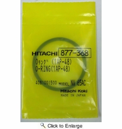 Metabo HPT  877368  O-Ring (1Ap-48) Replacement Part for NR83A2, NR65Ak, NR90AC3