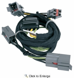 hopkins 40505 litemate vehicle to trailer wiring kit (pico 6866pt) 1994-2004  ford mustang and 1992-1997 crown victoria