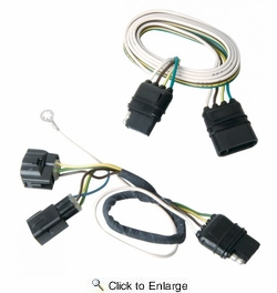 Hopkins 42625  LiteMate Vehicle to Trailer Wiring Kit (Pico 6954PT) 2005-2006 Jeep Wrangler