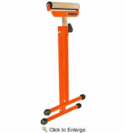 "HTC PM5080  Port-A-Mate 27"" - 43"" Tall Adjustable Pedestal Roller Stand (132-Lb Load Capacity)"