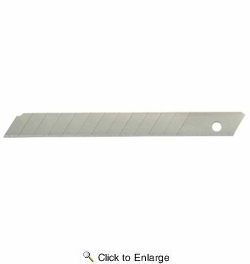 Hyde 42345  Snap-Off 9mm Blades - 5 Pack
