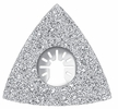 "Imperial Blades  IBOA620-1  Universal Fit 3-1/8"" Triangular Rasp Carbide Blade - 1 Per Package"