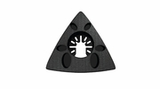 """Imperial Blades  IBOATSP-1  Universal Fit 3-1/8"""" Oscillating Triangle Sanding Pad - 1 Per Package"""