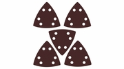 Imperial Blades  IBOTSPH120-5  Universal Fit Triangular 120 Grit Sandpaper Attachment - 5 Per Package