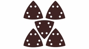 Imperial Blades  IBOTSPH60-5  Universal Fit Triangular 60 Grit Sandpaper Attachment - 5 Per Package