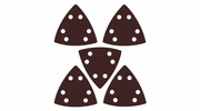 Imperial Blades  IBOTSPH80-5  Universal Fit Triangular 80 Grit Sandpaper Attachment - 5 Per Package