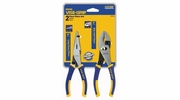 "Irwin 2078702  Vise-Grip 2-Piece Pliers Set  6"" Slip Joint + 6"" Long Nose"