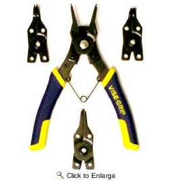 """Irwin 2078900  Vise-Grip 6-1/2"""" Convertible Snap Ring Pliers"""