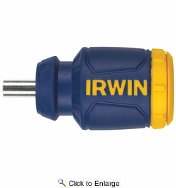 Irwin 4935586  8-in-1 Stubby Multi-Tool Screwdriver with ProTouch Grip
