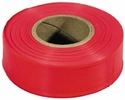 Irwin 65601  Strait-Line 150' Red-Glo Fluorescent Flagging Tape