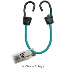 """Keeper 06068  18"""" Ultra Bungee Cord with Steel Core Hooks"""