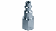 """Legacy A73430-X  Steel Type D Industrial 1/4"""" Body x 1/4"""" Female NPT Quick-Disconnect Plug (CP20)"""