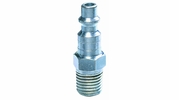"""Legacy A73440-X  Steel Type D Industrial 1/4"""" Body x 1/4"""" Male NPT Quick-Disconnect Plug (CP21)"""